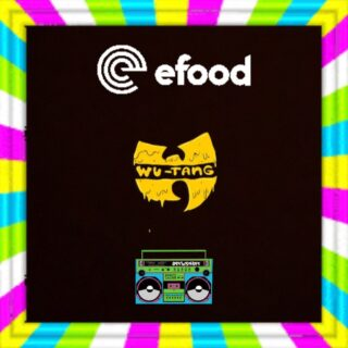 Don't miss our crazy giveaways with @efoodgr 💥 #wutangclan #ghettoblastergr 🔥