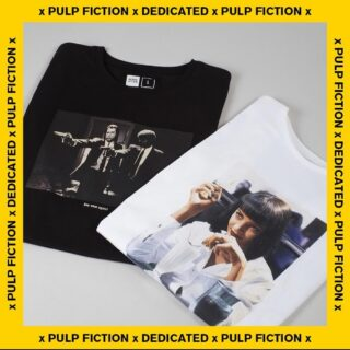 Pulp fiction X Dedicated Brand 🔥 #dedicatedbrand #ghettoblastergr #pulpfiction 💥