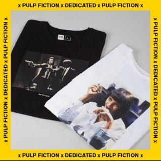 Pulp fiction X Dedicated Brand 🔥 #dedicatedbrand #ghettoblastergr #pulpfiction 💥